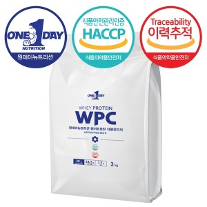 단백질 헬스보충제 프로틴 쉐이크 WPC 포대유청 2kg