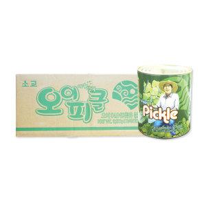 코리원/삼양 후레쉬 오이피클 3kg x 6개/피자/피클
