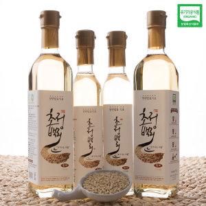 유기농 초정백리 천연발효 현미식초 250ml