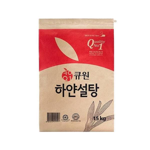 삼양사 큐원 하얀설탕 15kg / 3kgx4개