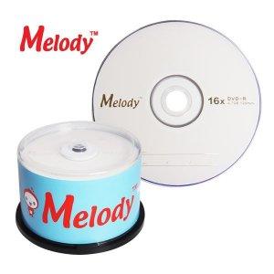 멜로디 DVD-R 16배속 50P CAKE