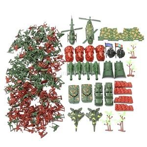 270P 육군 군인 인형 군대 모래장면 모델 장난감 4cm