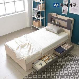 스텔라 LED 수납 침대 SS + 매트리스 (단독 할인)