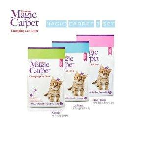 먼지없는 고양이모래 매직카펫 3개셋트