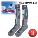 스키 보드 양말 2켤레 남자 여자 아동 장목 스포츠
