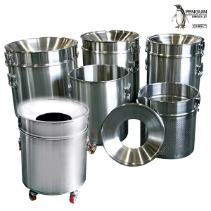 스텐레스 잔반통/음식물 회수처리기 음식물쓰레기통