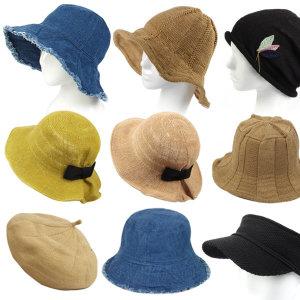 예쁜(여성/벙거지)모자/비니/항암/여름/와이어/썬캡