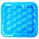 에어방석 에어물방석 사각 블루 쿨방석 아이스방석
