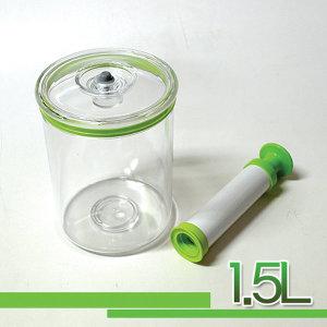 진공실험장치(용기1.5L+펌프)/감압용기