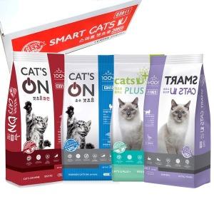 고양이사료 20kg 15kg 캣츠온 캣츠유 대용량 길 냥이