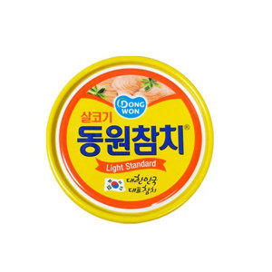 동원 참치 살코기 100g/참치/참치캔/동원참치