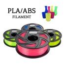 PLA ABS 필라멘트 3D프린터 1.75mm 1KG 우드 등 다양