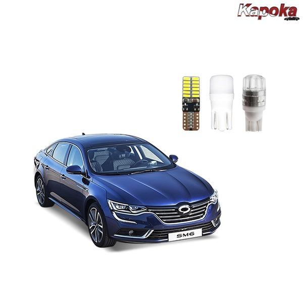 + SM6 (LPE 겸용) LED 실내등 / 번호판등 트렁크등