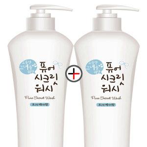 순한 여성청결제 퓨어시크릿 1000ml / 베이비 플로랄