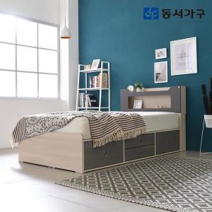 스텔라 LED 4서랍 침대 슈퍼싱글 (프레임)