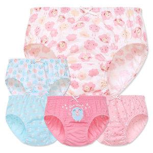 MR키즈 하늘하늘 여삼각 5매입 아동팬티 아동속옷
