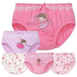 MR키즈 발레리나 여삼각 5매입 아동팬티 아동속옷