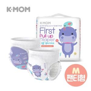 케이맘 처음팬티기저귀 M (24매) - 4팩