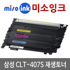CLT-407 재생토너 CLP-320 325 CLX-3180 3185 K WK FW