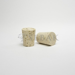 식품용 경사형 코르크마개 콜크마개 23x29mm 10개