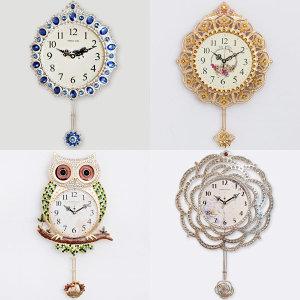 부엉이/추시계/엔틱벽시계/벽걸이시계/인테리어시계