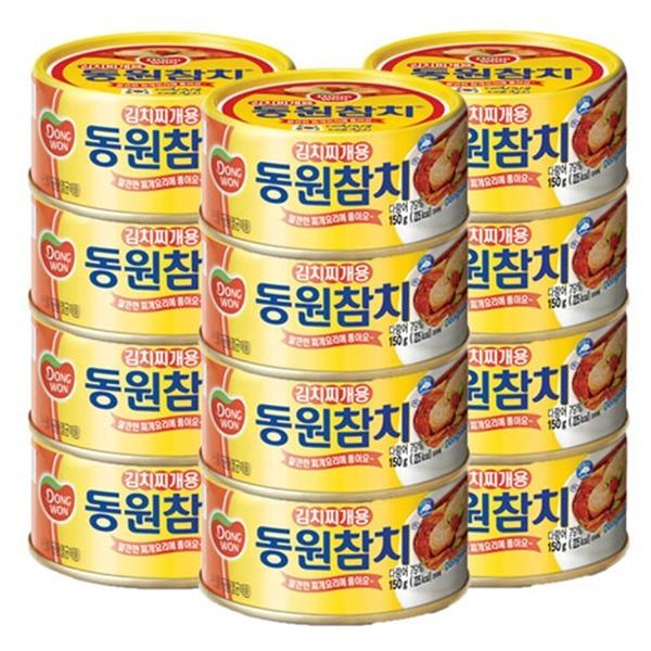 동원 김치찌개참치 100g 12개