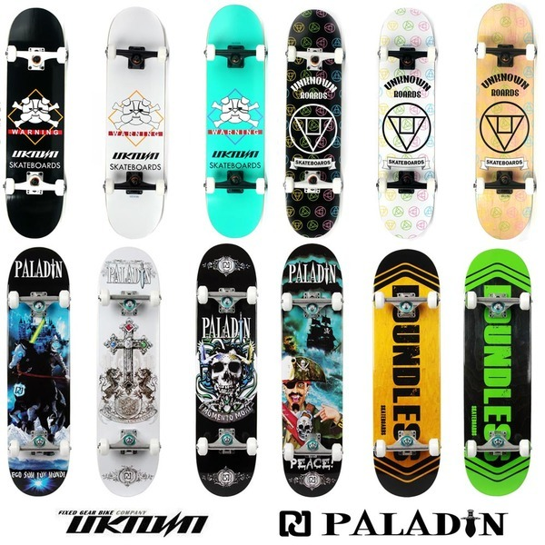 언노운 팔라딘 스케이트보드 고품질 보드+3종사은품