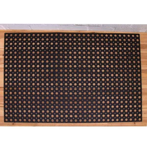 생고무매트(60X90X1cm)_검정 고무발판 미끄럼방지매트