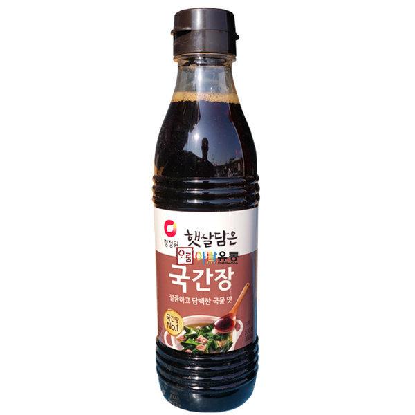 청정원/햇살담은ㅡ국간장 500ml