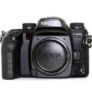 미놀타 35MM필름 카메라 A7 (렌즈미포함)