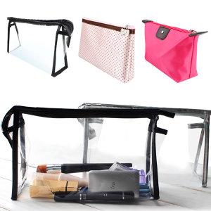 투명파우치 메이크업 가방 포켓 주머니 백인이너 여행