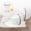 무형광 세탁망 원형 사각 5종세트 사각S 증정 아기속옷