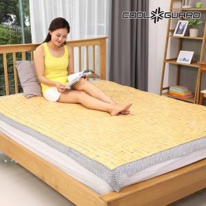 쿨가드 천연 대나무 마작대자리 싱글 90X180cm