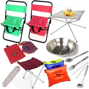 캠핑용품 낚시의자 설거지통 식기망 식기건조망 캠핑