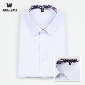 (교복왕(Gyobokwang))  교복왕  교복 남자 와이셔츠 유니크체크