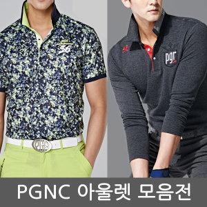 (아울렛) PGR 골프 남성 티셔츠/웨어/반팔/긴팔/남자/