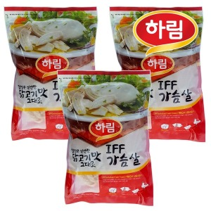 하림 IFF 닭가슴살 1kg 3봉