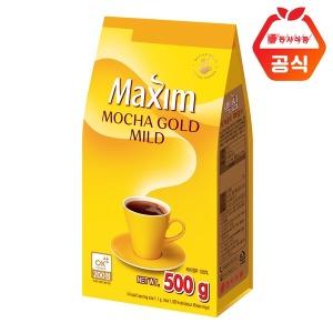모카골드 마일드 500g 리필 커피