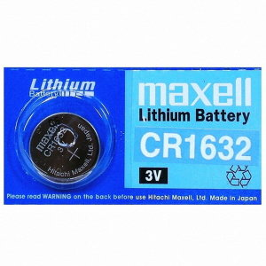 maxell Lithium Battery CR1632
