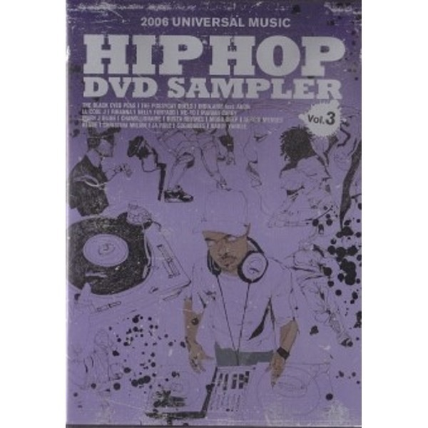 DVD HIP HOP DVD SAMPLER 2006 universal music
