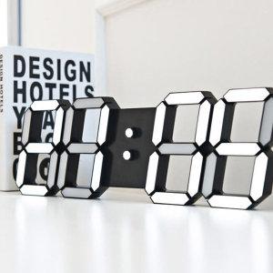 제이에이치 프리미엄 벽걸이 3D LED 스마트 벽시계