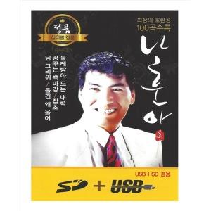 나훈아명품 100선/USB/휴대용효도라디오차량용mp3노래