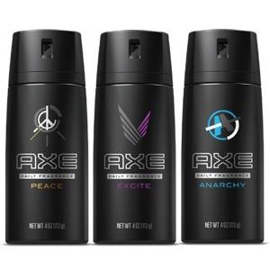 엑스 AXE 남성 데오드란트 바디스프레이 대용량 1+1