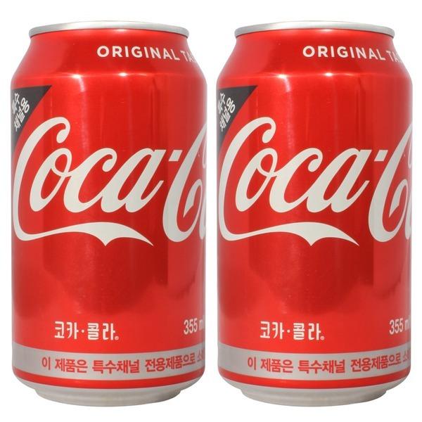 코카콜라 355ml x 24캔 / 음료수 탄산음료