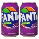 환타 포도 355ml x 24캔(뚱캔) / 탄산음료 음료수