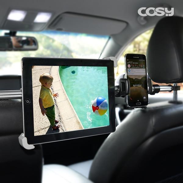 차량용 헤드레스트 태블릿 스마트폰 거치대 ST1345A