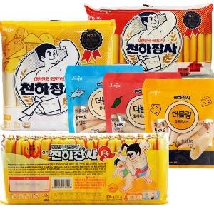 1+1행사 천하장사 Q500x2 더블링 치즈 소세지 키스틱