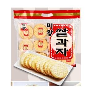 미왕 쌀과자 320g 옛날과자 뻥튀기 대용량과자 전병