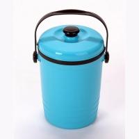 음식물 비닐 쓰레기통 3리터 처리기 수거통 더존