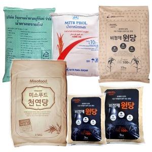 비정제설탕/원당(천연당)15kg/효소 과일청 매실
